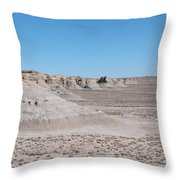 Trail Of The Acients  Throw Pillow