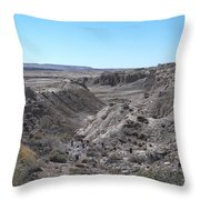 Trail Of The Acients-one Throw Pillow