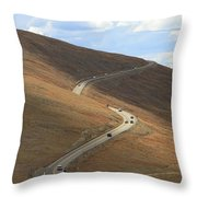 Trail Ridge Road Rocky Mountain National Park Throw Pillow