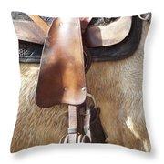 Trail Tack Throw Pillow