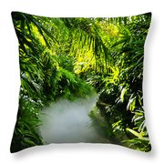 Trail To Adventure Throw Pillow