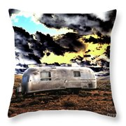 Trailer Throw Pillow