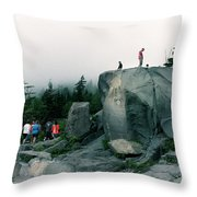 Trailhead Throw Pillow