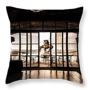 Trails End  Throw Pillow