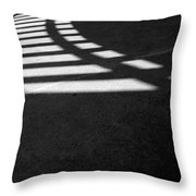 Light Rail 1 Of 1 Throw Pillow