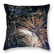 Trails Of The 4th Throw Pillow