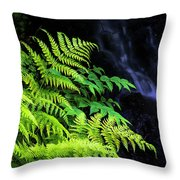 Trailside Plants Throw Pillow