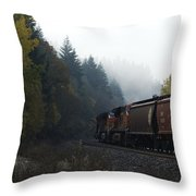 Train 1 Throw Pillow