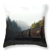 Train 2 Throw Pillow