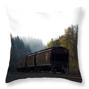 Train 3 Throw Pillow
