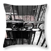 Train Car Rail 2 Throw Pillow