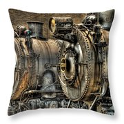 Train - Engine - Brothers Forever Throw Pillow