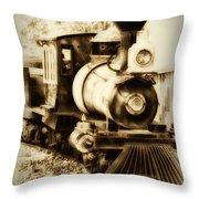 Train Keeps A Rolling Throw Pillow