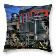 Train No. 3 Throw Pillow