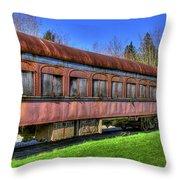 Train No. 91 Throw Pillow