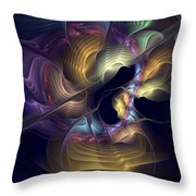 Train Of Thought Throw Pillow