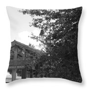 Train Station In Deerfield Beach Throw Pillow