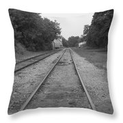 Train To Nowhere Throw Pillow