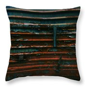 Trains 13 Vign Throw Pillow