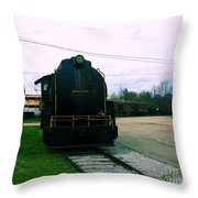 Trains 3 7 Throw Pillow