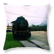 Trains 3 7a Throw Pillow