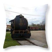 Trains 3 Org Throw Pillow