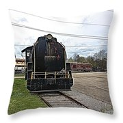Trains 3 Paint Org Throw Pillow