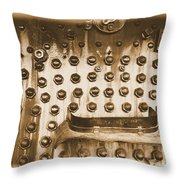 Trains 4 2a Throw Pillow