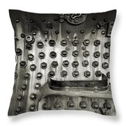 Trains 4 4a Throw Pillow