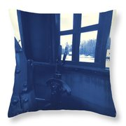 Trains 5 3 Throw Pillow