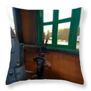Trains 5 Selfoc Throw Pillow