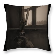 Trains 6 1a Throw Pillow
