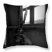 Trains 6 6a Throw Pillow