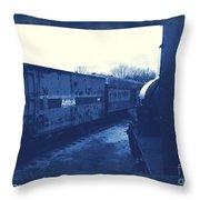 Trains 7 3a Throw Pillow