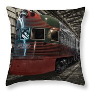 Trains North Shore Line Electroliner Sc Throw Pillow