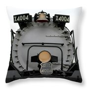 Trains Union Pacific Big Boy 4004 Front End Throw Pillow