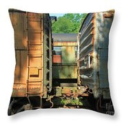 Trainyard 5 Throw Pillow