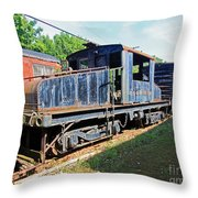 Trainyard 7 Throw Pillow