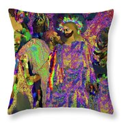 Traitor In The Midst Throw Pillow