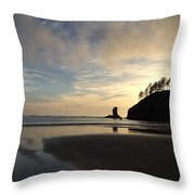 Tranquil Beauty Throw Pillow