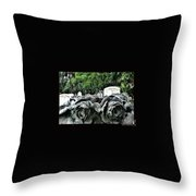 Tranquil Blossom Throw Pillow