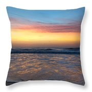 Tranquil Brilliance  Throw Pillow