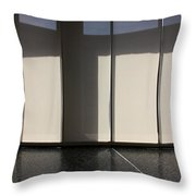 Inside Tranquil Space Throw Pillow
