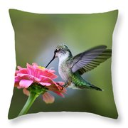 Tranquil Joy Throw Pillow