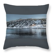 Tranquil  Kings Cove Nl Throw Pillow