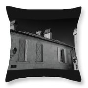 Tranquil Road Throw Pillow