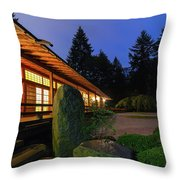 Tranquility At Dawn Throw Pillow
