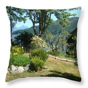 Tranquility At Egmont Throw Pillow