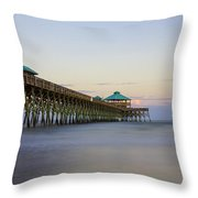 Tranquility At Folly Throw Pillow