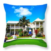Tranquility Bay West View Throw Pillow